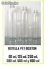Botella Pet Boston 30 ml, 60 ml, 125 ml, 250ml, 565ml y 960 ml