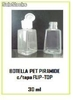 Botella pet piramide c/tapa flip-top