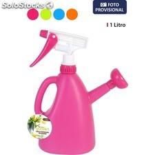 Botella pulverizador plástico 1L little garden - colores surtidos - little