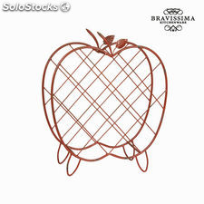Botellero de metal manzana by Bravissima Kitchen