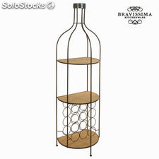 Botellero de metal y madera by Bravissima Kitchen