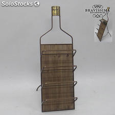 Botellero de pared metal by Bravissima Kitchen