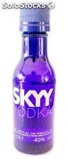 Botellita Miniatura Skyy vodka