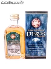 Botellita Miniatura Whisky Embrujo