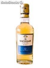 Botellita Miniatura Whisky Macallan 12