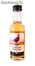 Botellita Miniatura Whisky The Famous Grouse