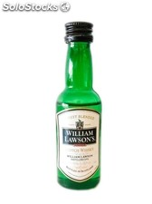 Botellita Miniatura Whisky William Lawson's