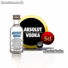 Botellita vodka Absolut