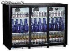 Bottles cooler 320 bottles ventilated-sliding doors