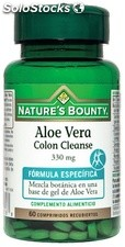 Bounty aloe vera colon Nature nettoyer comprimés 330 mg 60