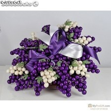Bouquet Grappolo Noisette Mauve