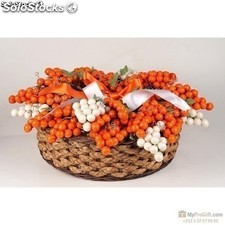 Bouquet Grappolo Noisette Orange