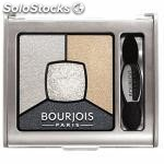 ✅ bourjois sombra de ojos quad smokey stories 09 faux blancs