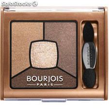 ✅ bourjois sombra de ojos smoky stories palette N13 upside brown
