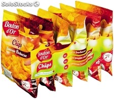 Bouton d or chips aroma. 6X30G