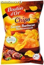 Bouton d'or chips bbq 135G
