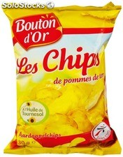 Bouton d or chips nature 6X30G