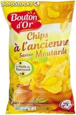 Bouton or chips moutarde 150G