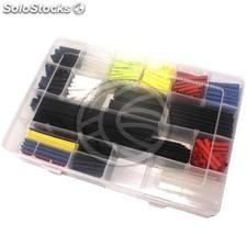 Box 595 pcs multicolor shrink tube 40m (HA92)