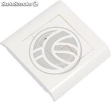 Box 80x80 wall or duct with 1 RJ45 utp Cat.5e 568B (RL71)