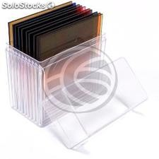 Box with 10 squares support Cokin 84mm filters with 10 filters (EE04)