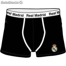 Boxer Real Madrid Adulto Negro 15965 PPT02-15965