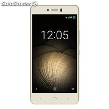 bq Aquaris u Plus (16GB+2GB) Blanco/Oro
