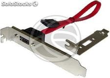 Bracket sata Port-m/h (1-Port) flex-atx (DM50)