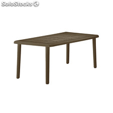 Brava rectangular table wenge