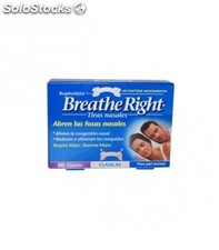 Breathe right tiras nasales gde 30 uni