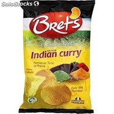 Bret's chips indian curry 125G