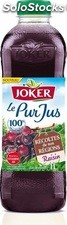 Brick 1L pur jus raisin recoltes regions joker