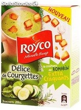Brick 3X20CL soupe extra craquante delice courgettes croutons royco