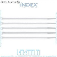 Brida de nylon 7.6 x 540 blanca - index - Ref:BB76540