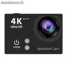 Brigmton - BSC-9HD4K 12MP Full HD Wifi 64g cámara para deporte de acción