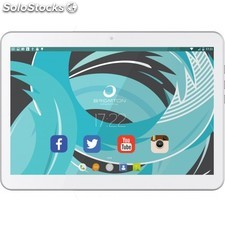 Brigmton - btpc-1021QC3G 16GB 3G Blanco tablet