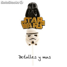 Brocheta de gominolas de Starwars