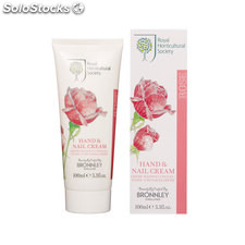 Bronnley RHS Rose Manos y uñas Crema 100ml