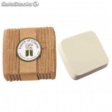 Brosse a dents etui recycle 15,5x1x1,5 cm blanc ps