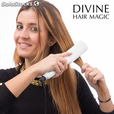 Brosse de Lissage Électrique Divine Hair Magic