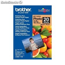 Brother - BP71GP20 Premium Glossy Photo Paper Color blanco