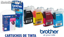 Brother cartuchos inyeccion lc1220y amarillo 300pg 0 blister + alarma lc1220ybp