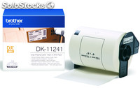 Brother dk-11241, color blanco, dk, papel, 102 x 152 mm