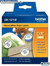 Brother Dk1218 Etiqueta Termica 24 Mm 1000Pcs