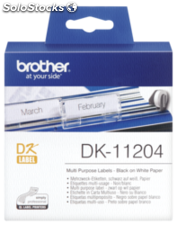 Brother Etiquetas multipropósito 17 x 54mm 400 unds DK-11204