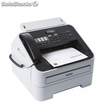 Brother - FAX-2845 Laser 33.6Kbit/s 300 x 600DPI Negro, Color blanco fax