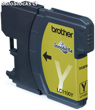 Brother lc-1100y yellow ink cartridge blister pack amarillo cartucho de tinta