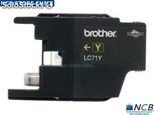 Brother Lc71Y Print Cartridge 1 X amarillo 300