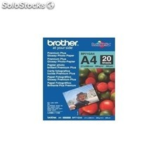 Brother - Papel Fotográfico Glossy Premium A4