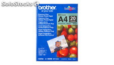 Brother papel fotográfico glossy premium a4